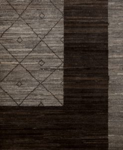 Modcar vloerkleed uit Pakistan detail | Brokking Vloerkledenspecialist