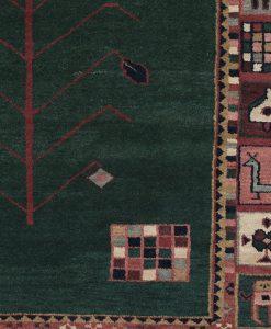 Traditional Gabbeh vloerkleed detail | Brokking Vloerkledenspecialist