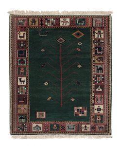 Traditional Gabbeh vloerkleed | Brokking Vloerkledenspecialist