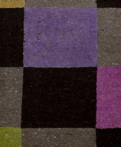 Colour Blocks uit Pakistan detail| Brokking Vloerkledenspecialist