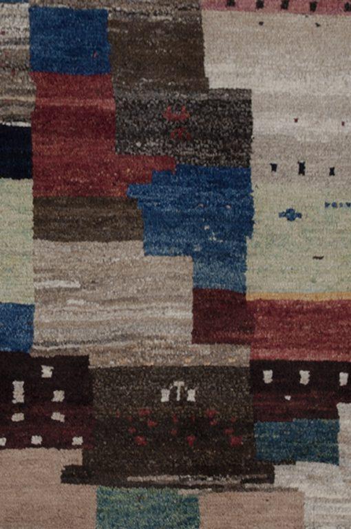 Iraans Gabbeh design vloerkleed detail | Brokking Vloerkledenspecialist