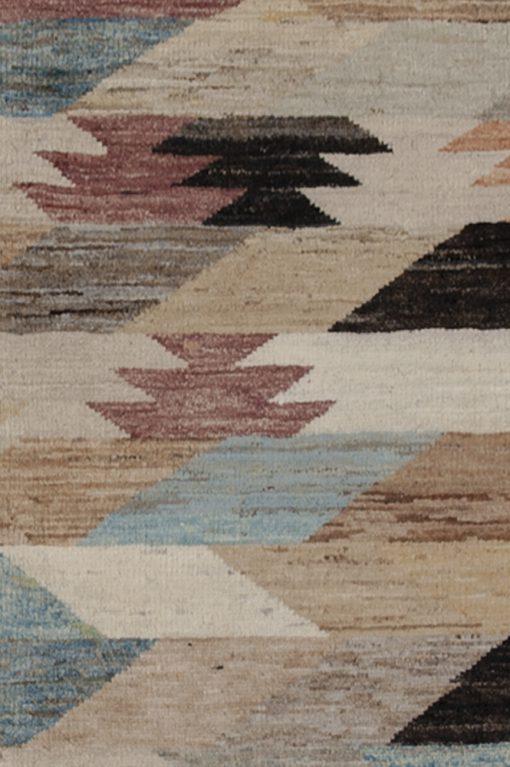 Art Deco design vloerkleed detail | Brokking Vloerkledenspecialist
