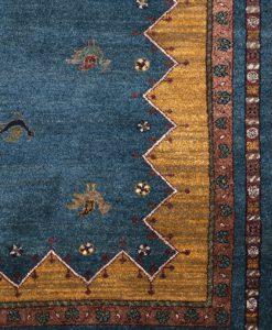 Kashkuli vloerkleed uit India detail | Brokking Vloerkledenspecialist