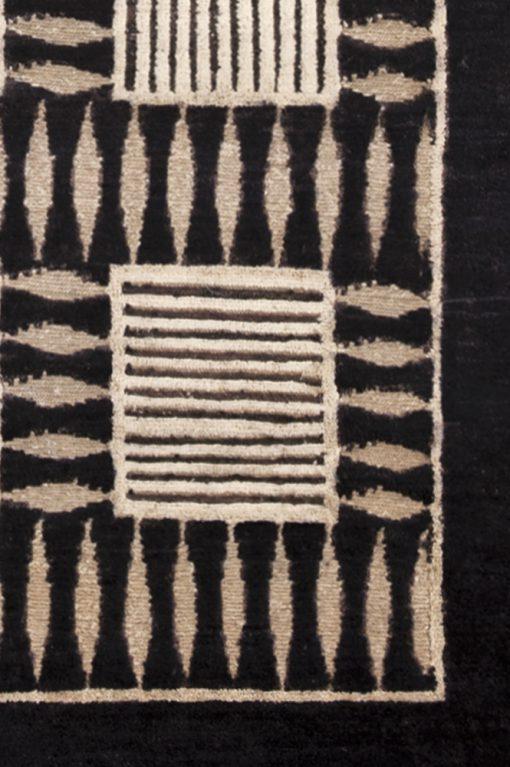 Design Ziegler vloerkleed Pakistan detail | Brokking Vloerkledenspecialist