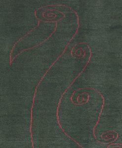 Iraans vloerkleed Avantgarde detail