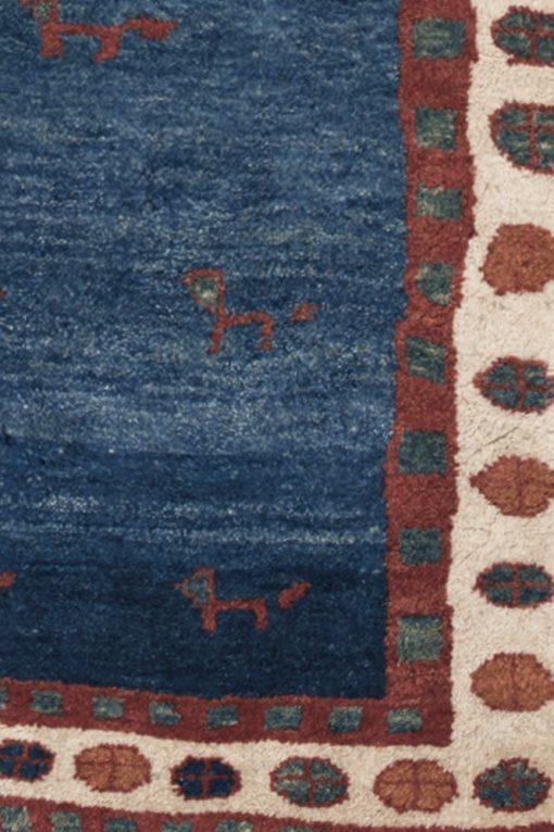 Perzisch Gabbeh vloerkleed detail| Brokking Vloerkledenspecialist