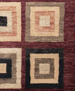 Design modern blocks uit Pakistan detail | Brokking Vloerkledenspecialist