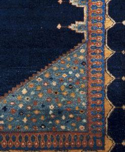 Iraans Luribaff vloerkleed detail | Brokking Vloerkledenspecialist