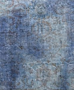 Turks recoloured blue vintage vloerkleed Brokking Vloerkledenspecialist.nl IJsselstein (41)