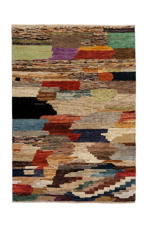 Paintint Art vloerkleed uit Pakistan | Brokking Vloerkledenspecialist
