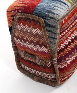 Originele Iraanse kamelentas pouffe accessoire Brokking Vloerkledenspecialist.nl IJsselstein (109)