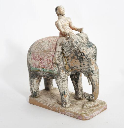 Origineel olifant tempelbeeldje accessoire Brokking Vloerkledenspecialist.nl IJsselstein (44)