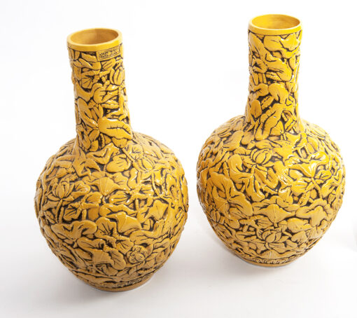 Chinese bloemenvaas (geel) accessoire Brokking Vloerkledenspecialist.nl IJsselstein (92)