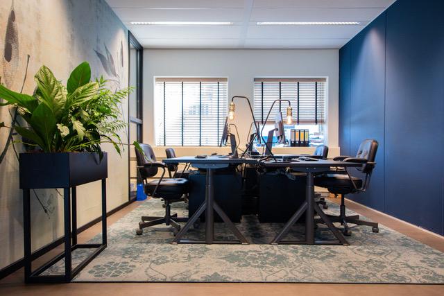 Zuidas kantoor Spaces met vloerkleed Desso