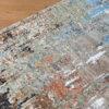 "Indian Pearl Collection ""Crisp Jungle Morning"" vloerkleed detail"