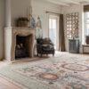Mamluk design vloerkleed in landelijk interieur