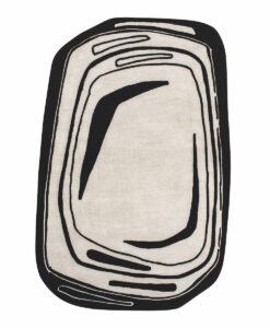 Fragment Zwart-wit Designer Toulemonde Bochart