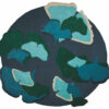 Ginkgo_Foret_Designer-Ginkgo_ foret_Designer-blauw-groen-rond