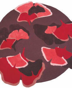 Ginkgo_opera_Designer-rood-roze-paars-Toulemonde-Bochart-rond