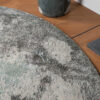 Detailfoto Rond vloerkleed Urban Moonlight