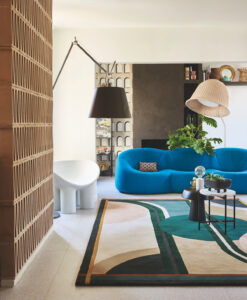 Vloerkleed Designer Toulemonde Bochart sfeerfoto