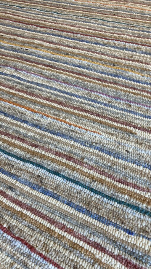 Tundra Wave gekleurd wollen vloerkleed
