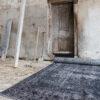 Groot blauw-grijs vintage vloerkleed – Brokking Vloerkledenspecialist
