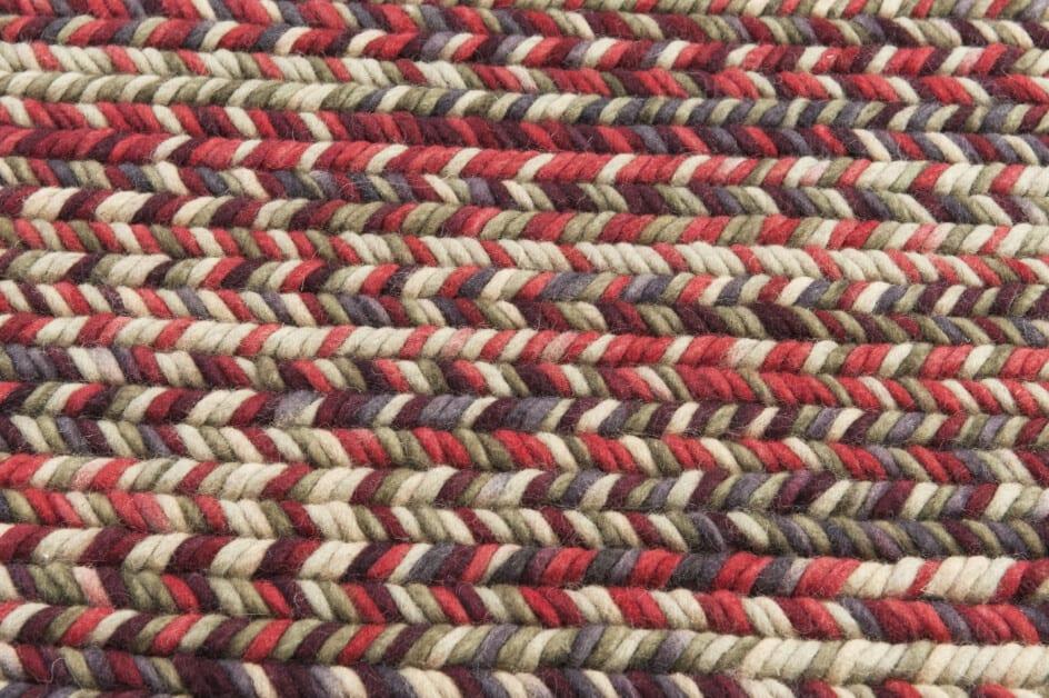 India Agra red/beige vloerkleed (sample) Brokking Vloerkledenspecialist.nl IJsselstein
