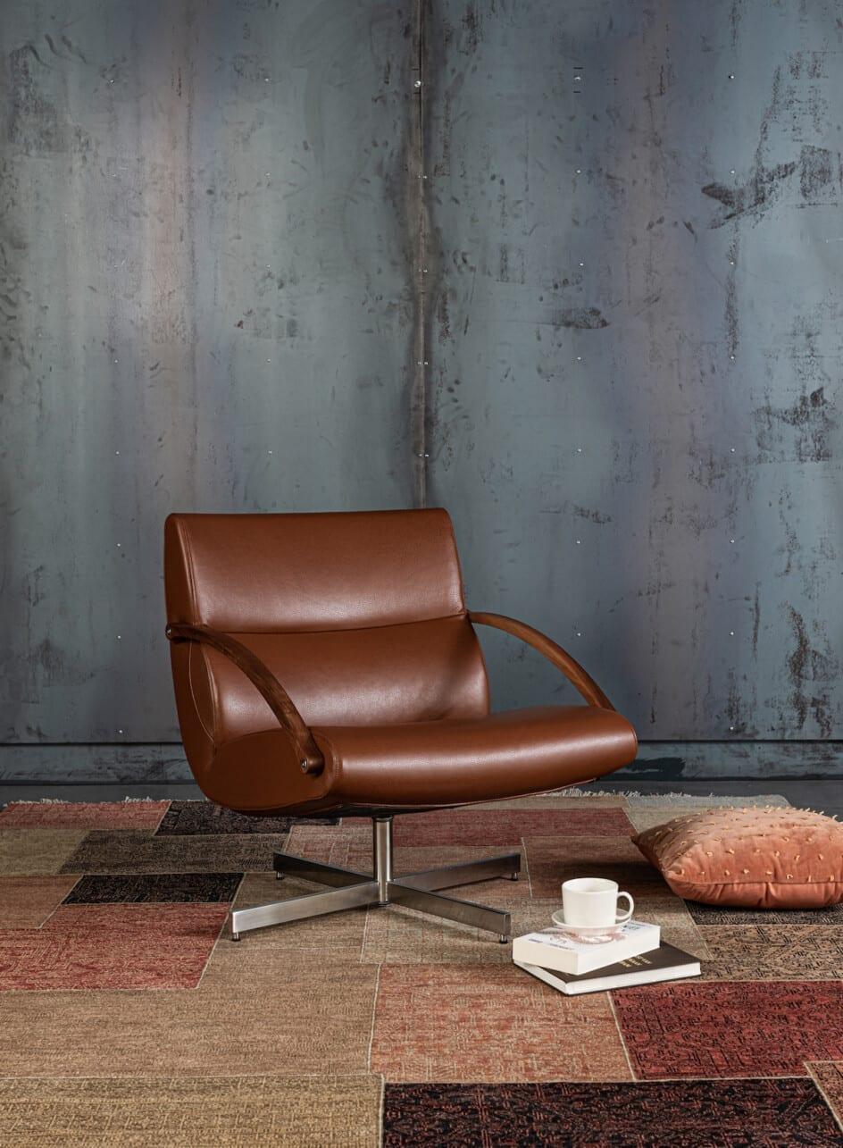 Asian Tajagra patch vloerkleed met fauteuil Harvink