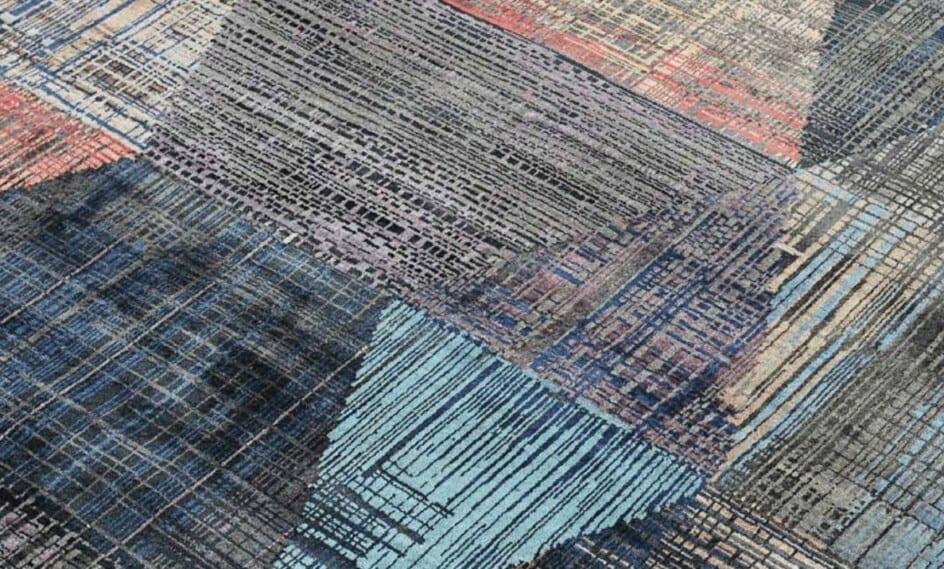 India Elements Charcoal Denim vloerkleed Brokking Vloerkledenspecialist.nl IJsselstein