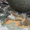 Pearl collection Golden Temple vloerkleed detailfoto