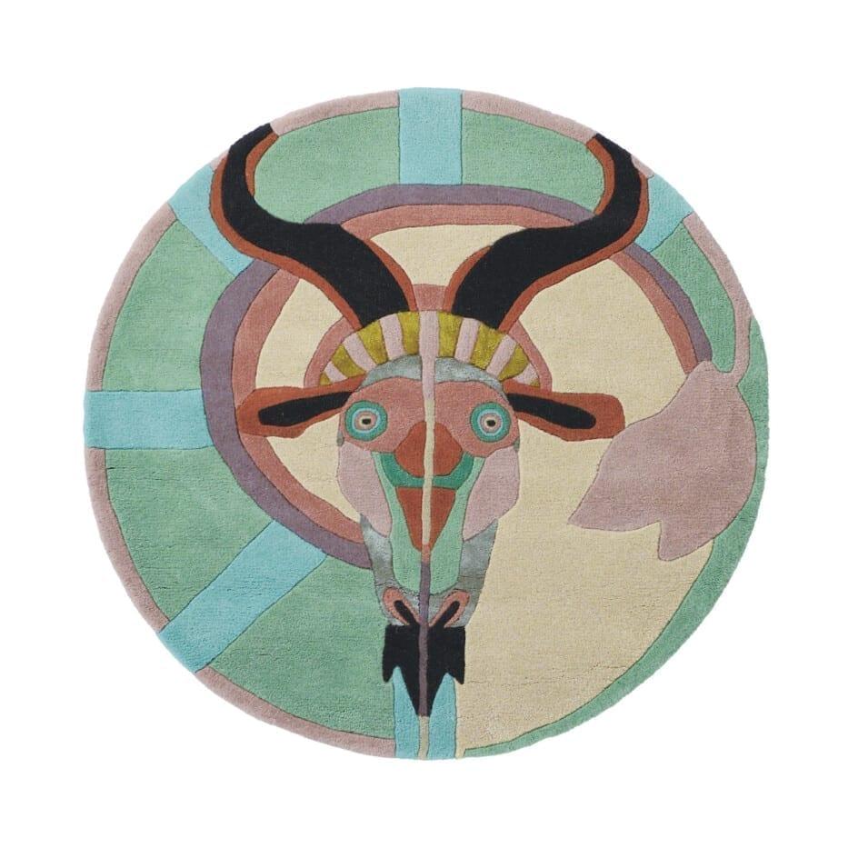 Rond Ted Baker Sterrenbeeld Vloerkleed Steenbok
