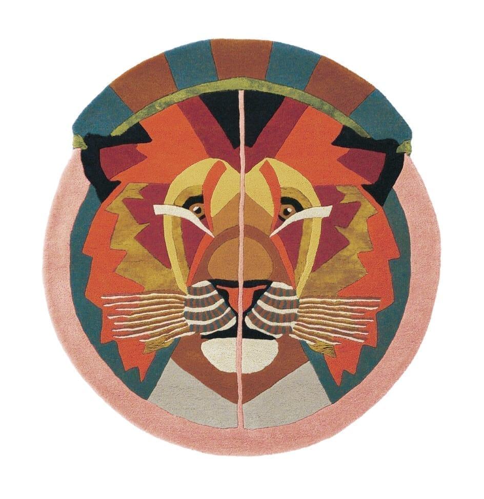 Rond Ted Baker Sterrenbeeld Vloerkleed Leeuw