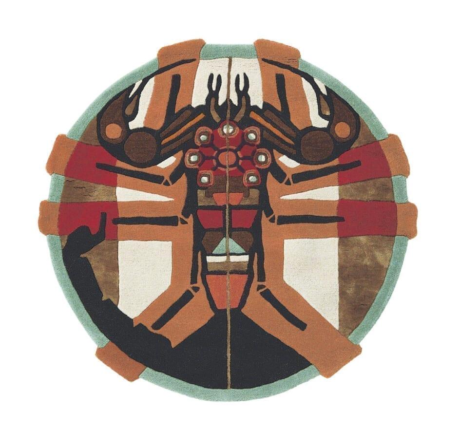 Rond Ted Baker Sterrenbeeld Vloerkleed Schorpioen