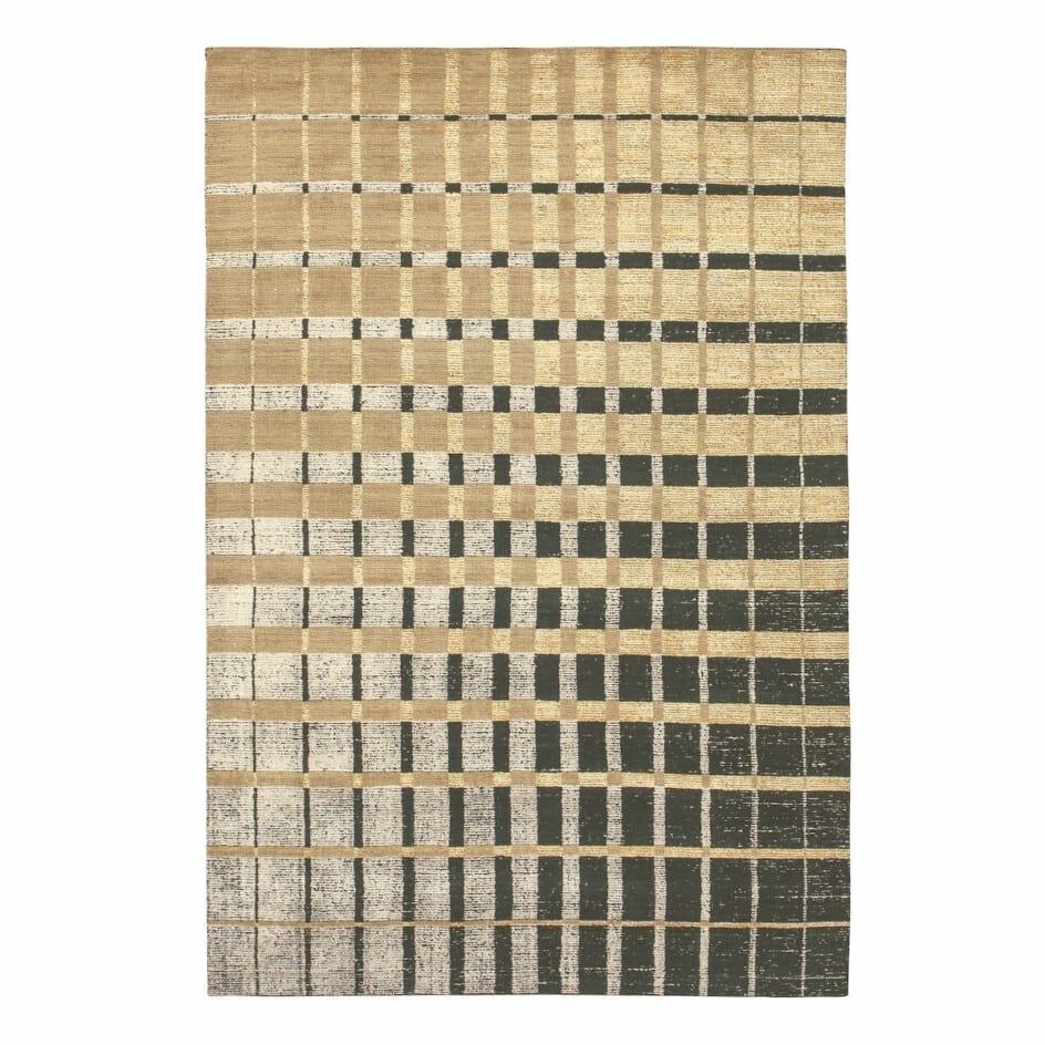 Vloerkleed met geometrische print Isadora Goud