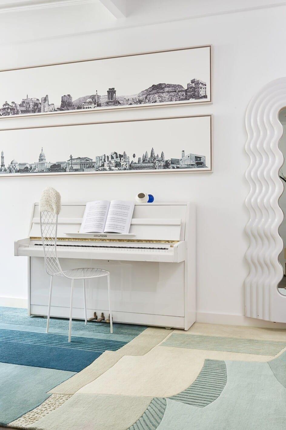Lobby Bleu designer Toulemonde Bochart