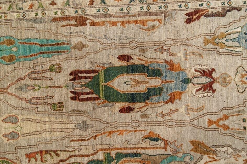 New Classic design Pakistan detail2- Brokking Vloerkledenspecialist
