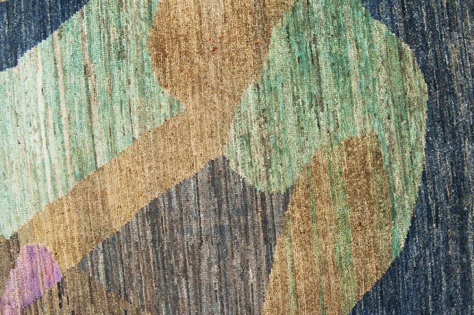 Art Deco Pakistan design detail2 - Brokking Vloerkledenspecialist