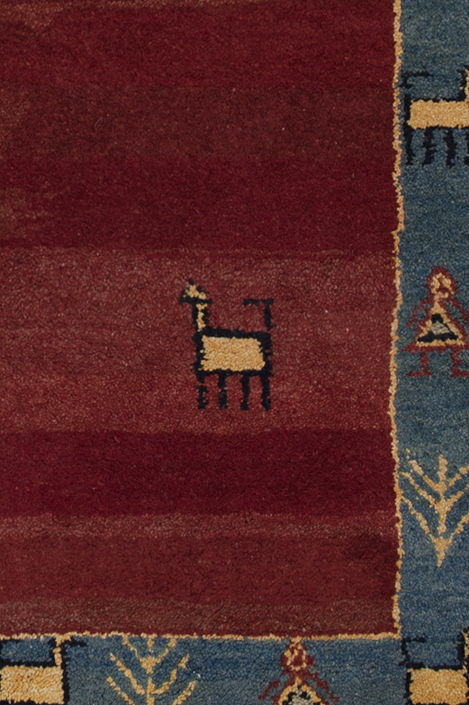 Original Gabbeh Iran detail - Brokking Vloerkledenspecialist