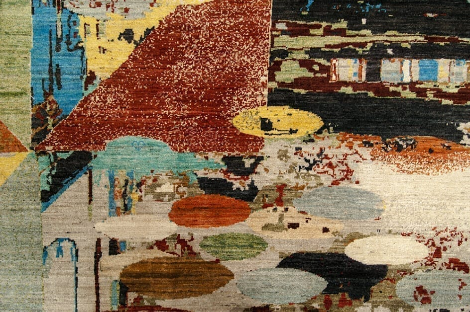 Painting color design detail1 - Brokking Vloerkledenspecialist.nl
