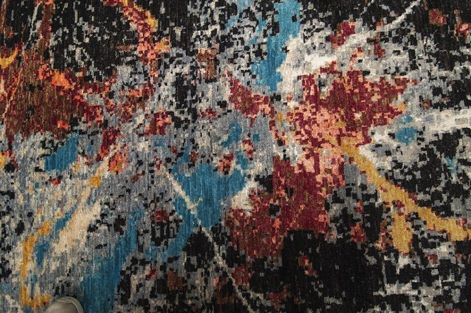 Modern Painting Art detail1 - Brokking Vloerkledenspecialist.nl
