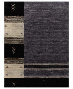 Nepal Art Deco Black Border vloerkleed Brokking Vloerkledenspecialist.nl IJsselstein (51)