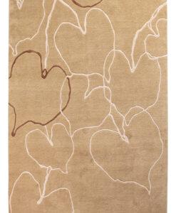 Nepal Brown Leaf vloerkleed Brokking Vloerkledenspecialist.nl IJsselstein (6)