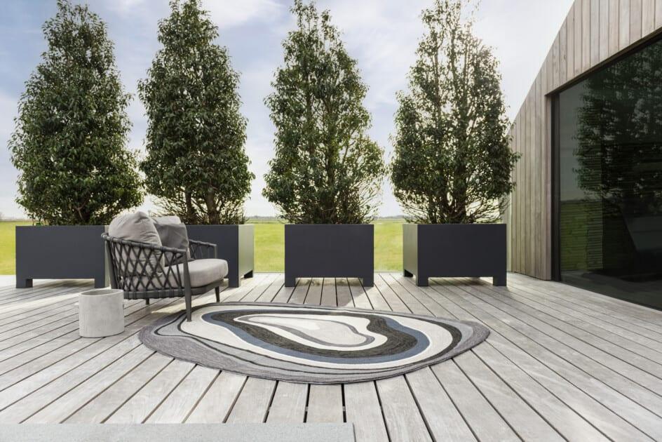 Outdoor tapijt Aura Grey Brink & Campman