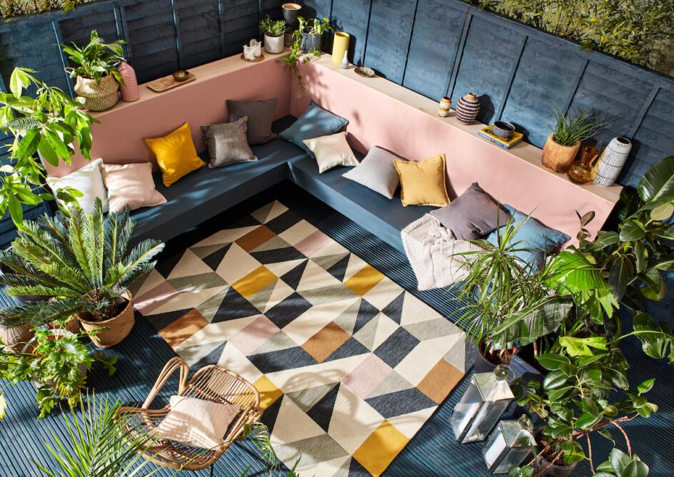 Outdoor tapijt Scion Nuevo blush