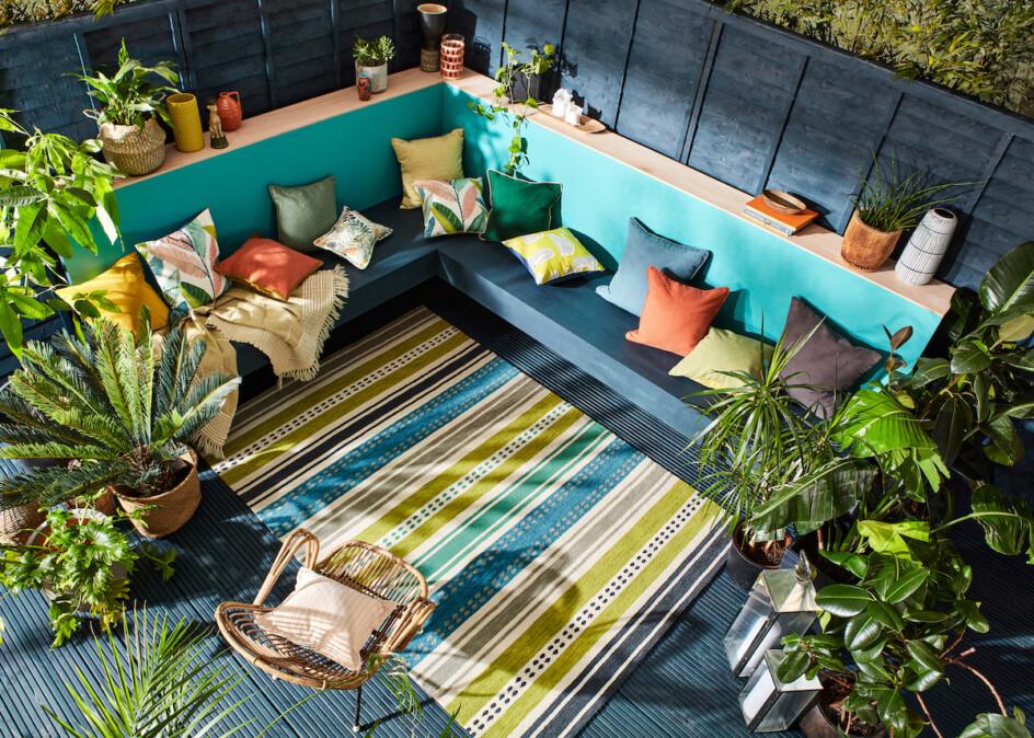 Outdoor tapijt Scion Rivi Kiwi