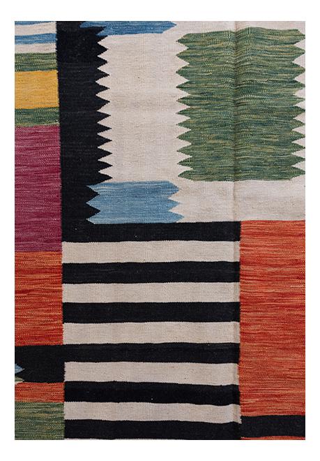 Afghan Modern Kelim vloerkleed BR01743
