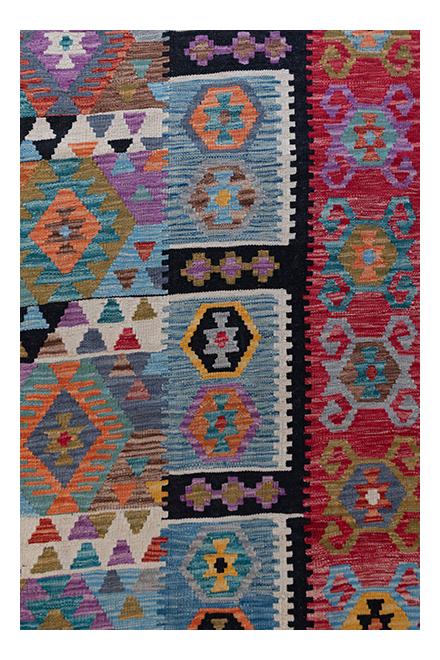 Afghan Modern Kelim vloerkleed BR01747